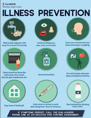 poster describing Illness Prevention